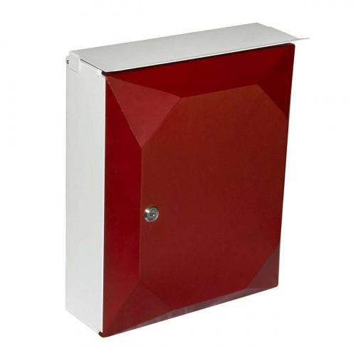 Ящик почтовый красный
