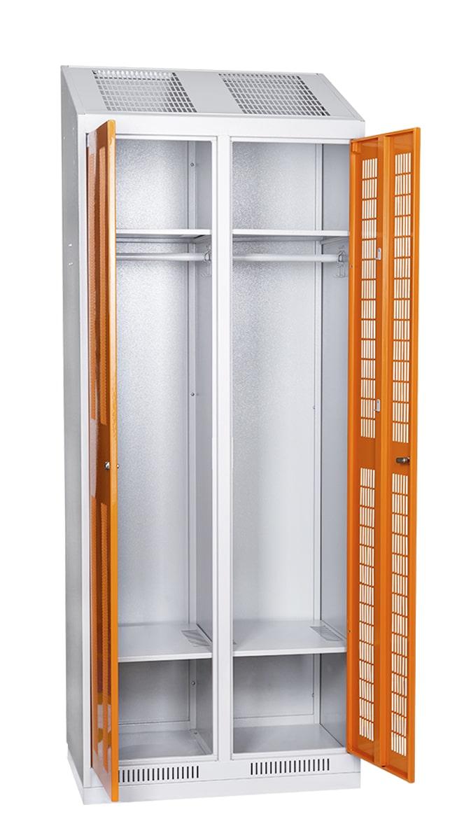 Широкие возможности металлических шкафов